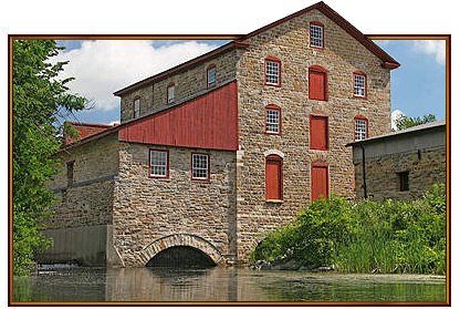 Old Stone Mill - photo by Ken W. Watson