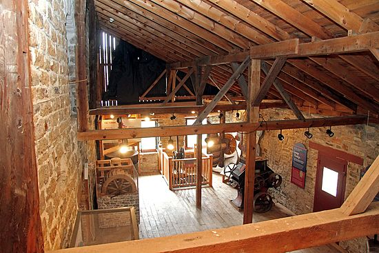 Old Stone Mill Interior Views